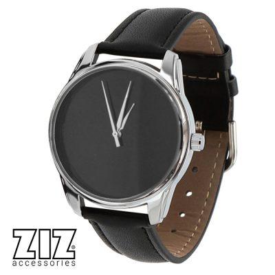 Часы наручные «Черный минимализм»