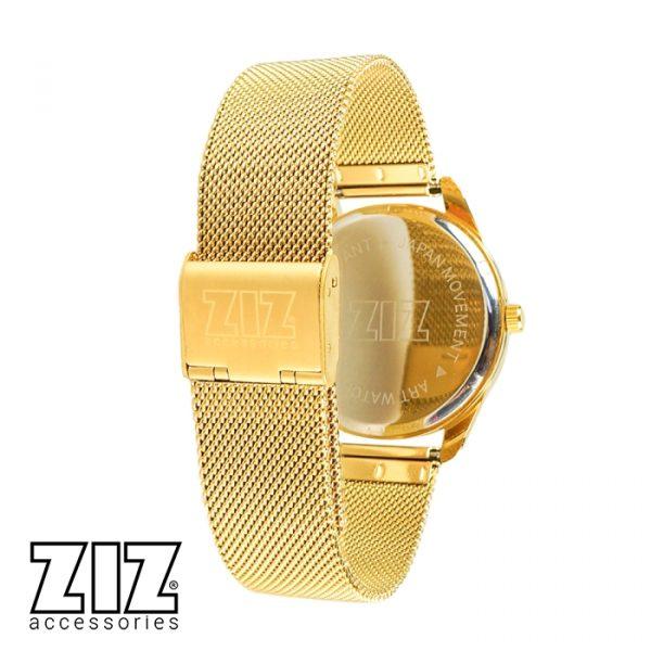 Часы наручные «Минимализм» золотой браслет