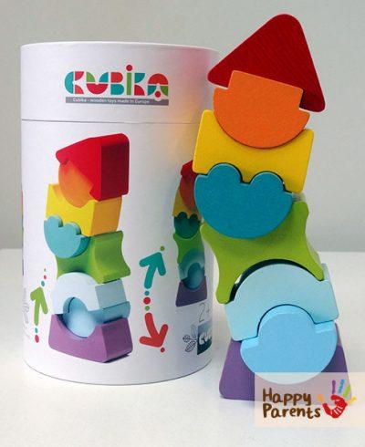 Пирамидка-головоломка 8 деталей «Cubika»