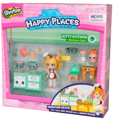 Игровой набор с куклой Happy Places «Кухня Коко Кукки»