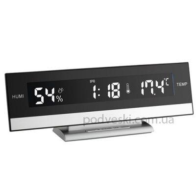 Электронный будильник с термогигрометром TFA