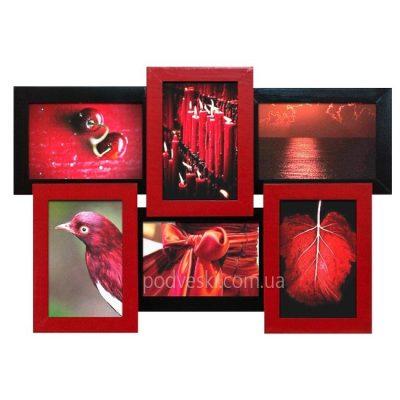 Фоторамка «Черное и красное»