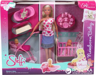 Кукла Штеффи с младенцем Simba Steffi Love