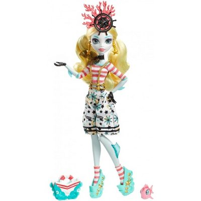 Кукла Monster High hriekwrecked Nautical Ghouls Lagoona Blue Doll