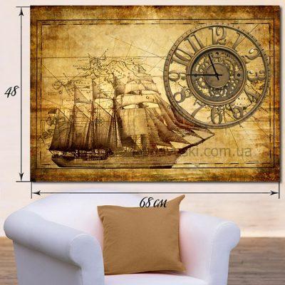 Настенные часы-картина «Путешествие»