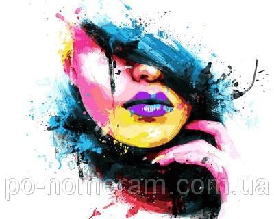 Картина-раскраска DIY Babylon «Девушка-весна» Худ Патрис Мурчиано