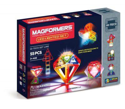 Магнитный конструктор Magformers с ЛЕД подсветкой