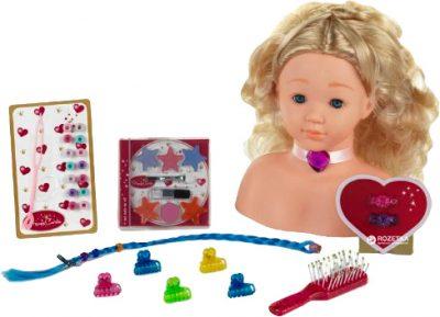 Кукла-манекен для макияжа и причесок Klein «Princess Coralie»