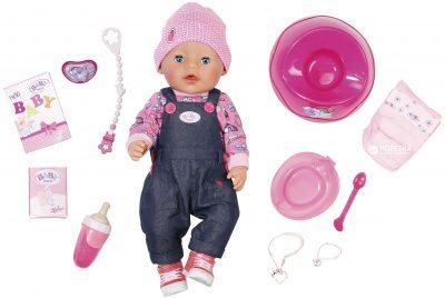 Кукла Zapf Baby Born «Джинсовый Стиль» с аксессуарами