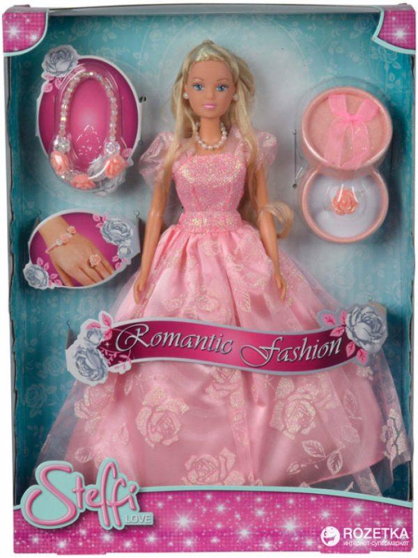 Кукла Simba Штеффи «Романтический стиль» с браслетом и кольцом (5733105)