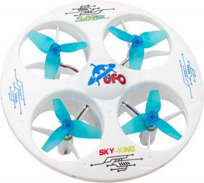 Квадрокоптер Kingco K102 Mini UFO 3D Eversion 2.4 ГГц 6 Axis White (KK102w)