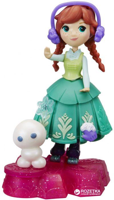 Мини-кукла Hasbro Disney «Frozen» Анна на движущейся платформе