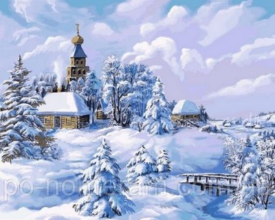 Набор для рисования DIY Babylon «Середина зимы»