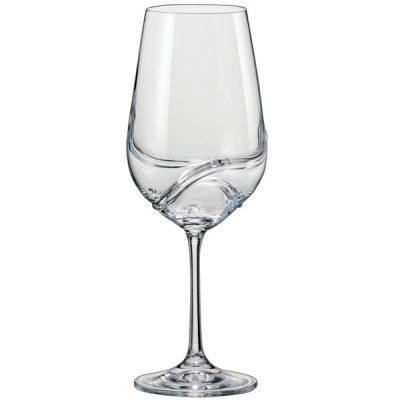 Набор фужеров для вина Bohemia «Turbulence»