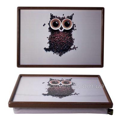 Поднос на подушке Coffee Owl