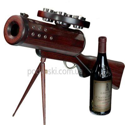 Подставка для вина «Пулемет»