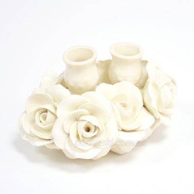 Подсвечник керамический GrandKerama «Розали»