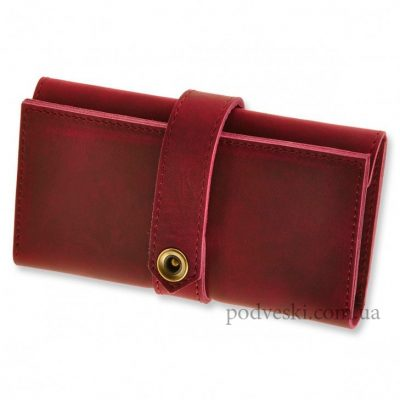 Кожаный кошелек-портмоне BlankNote «3.0 Виноград»