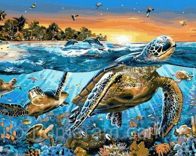 Раскраска для взрослых «Карибские острова» Mariposa