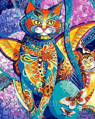 Раскраска на холсте DIY Babylon «Чеширский кот»
