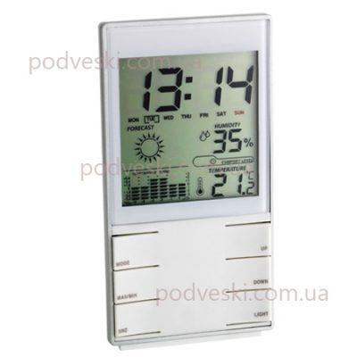 Термогигрометр с часами комнатный TFA