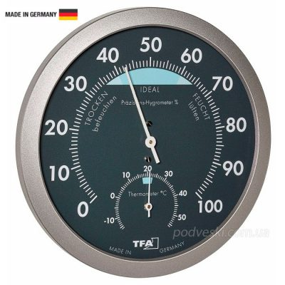 Термометр-гигрометр механический TFA 45204351