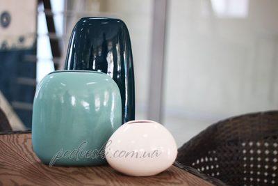Набор керамических ваз «Морские камни» Eterna