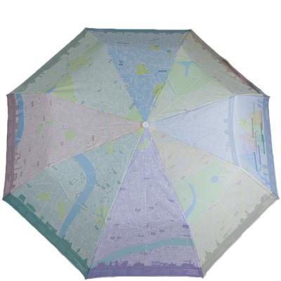 Зонт женский механический компактный FULTON (London-Map)