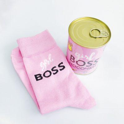 Банка носков Girl boss