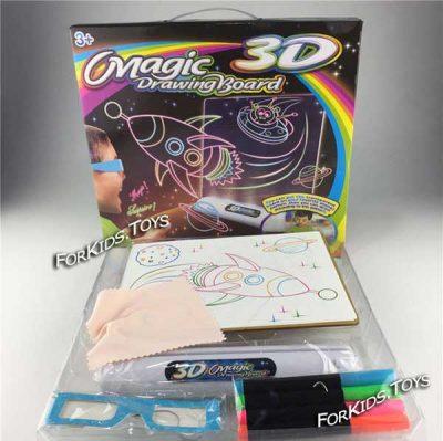 Доска для рисования 3D Magic Drawing Board