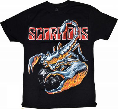 Футболка Scorpions (скорпион)