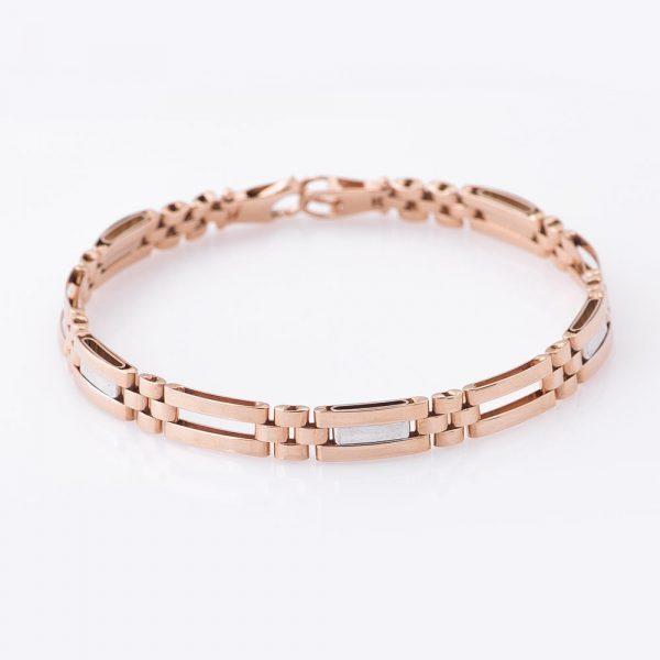 Мужской браслет из золота ювелирный завод«Оникс»
