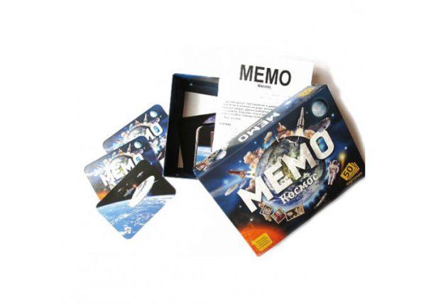 Настольная игра «МЕМО. Космос»