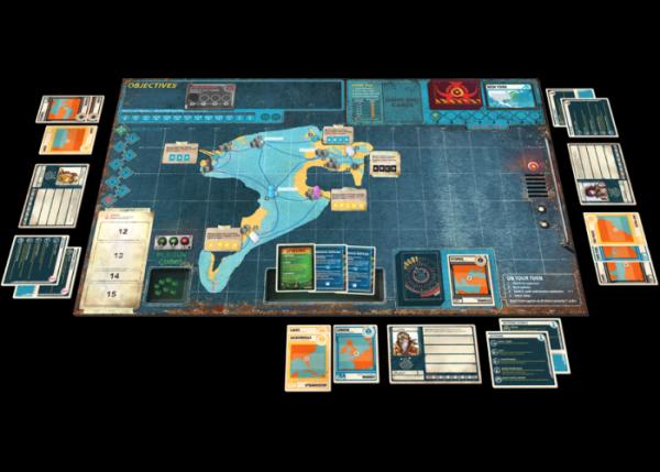 Настольная игра «Пандемия: Наследие 2» (желтая)