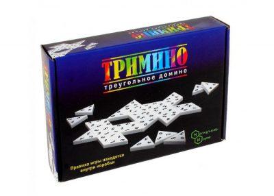 Настольная игра «Тримино» (треугольное домино)