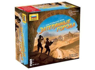 Настольная игра «Затерянные города» (Lost Cities)