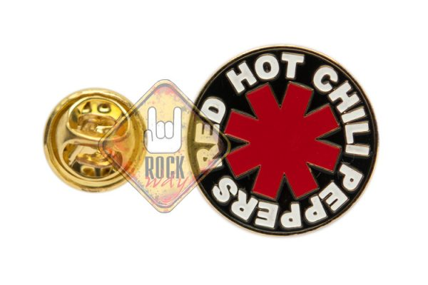 Пин (значок) фигурный Red Hot Chili Peppers (лого)
