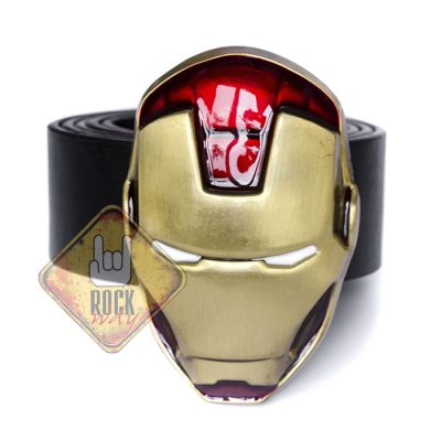 Пряжка на ремень «Iron Man» (маска)