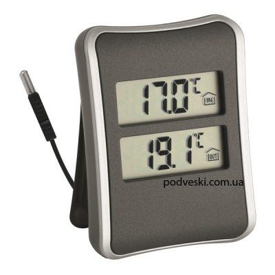 Термометр комнатный-уличный электронный TFA