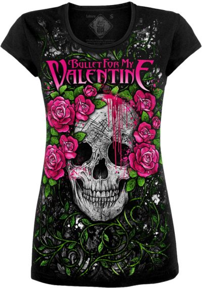 Туника Bullet For My Valentine (skull)