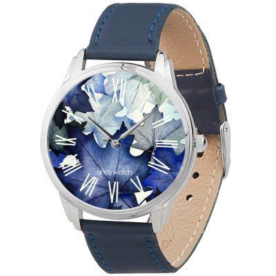 Наручные часы AndyWatch «Полуночные листья»