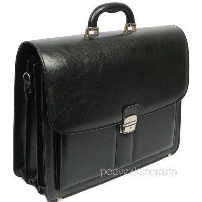 Мужской портфель из кожзама Jurom