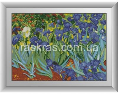 Алмазная мозаика Dream Art «Ирисы. Ван Гог»