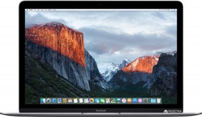 "Ноутбук Apple MacBook A1534 12"" Space Gray"