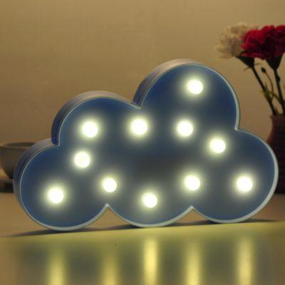 Декоративный LED светильник/ночник «Облако»