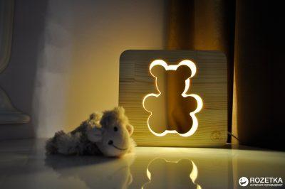 Настольная лампа-ночник Creative Light Dream Land «Мишка»