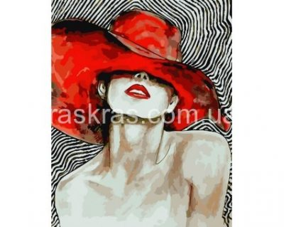 Картина по номерам «Яркая дама» ArtStory