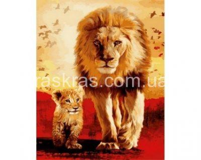 Картина раскраска «Отец и сын» Турбо
