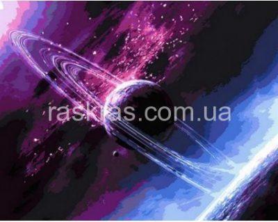 Картина-раскраска «Сквозь вселенную» Mariposa