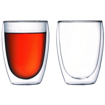 Набор стаканов с двойными стенками Bodum «Pavina» 0.45 л